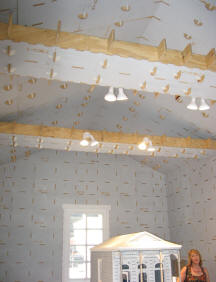 Model and ceiling detail.