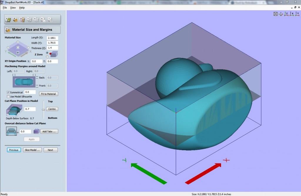 Slicing in PartWorks3D