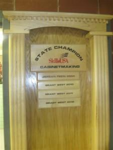 cabinetmaking Champs