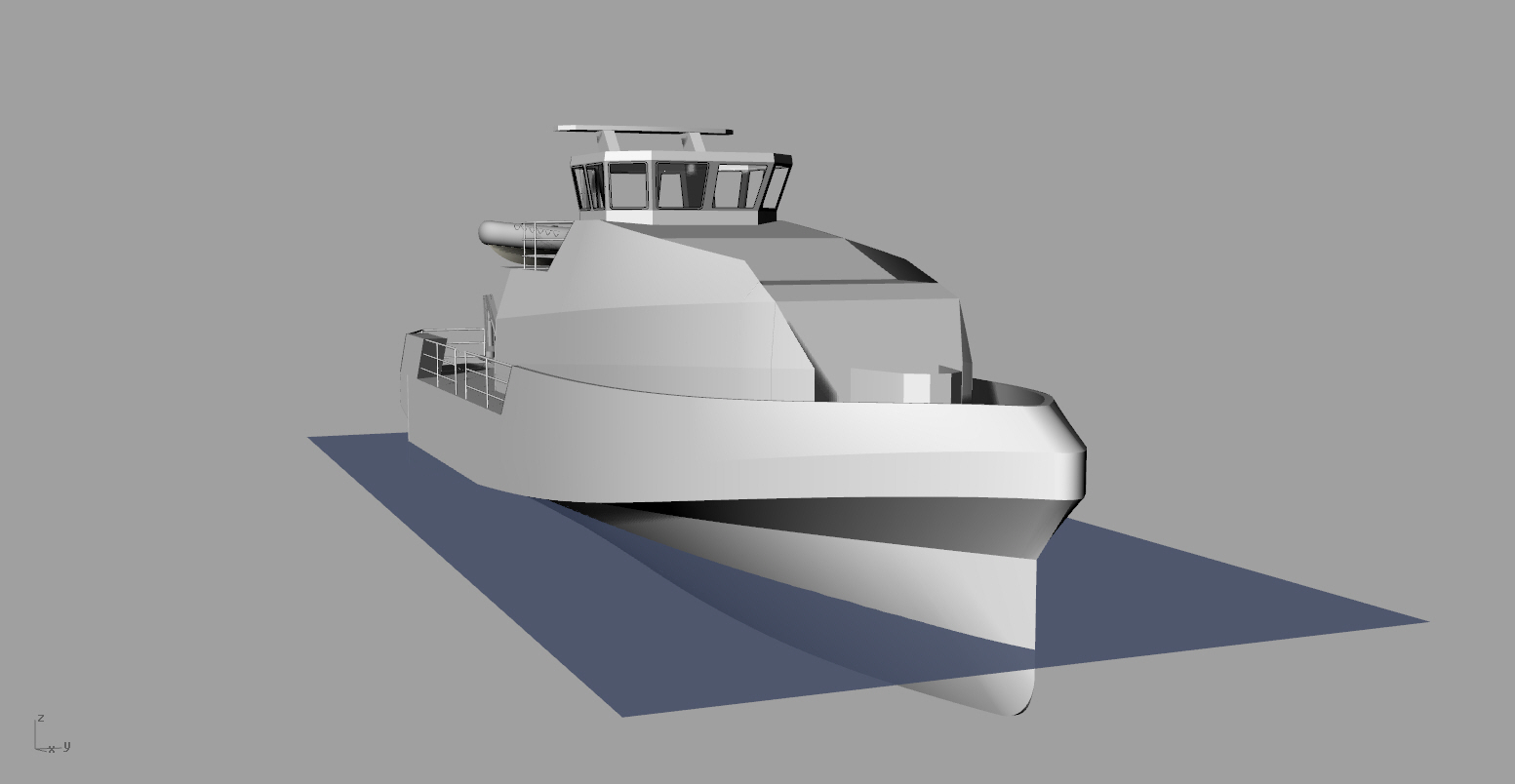 Catamaran boat design software | Nakl