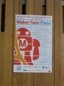 1_Maker Faire Paris poster