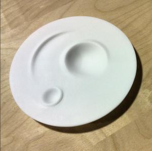 Corian beurre dish prototype