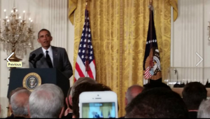 President Obama addresses the Makers