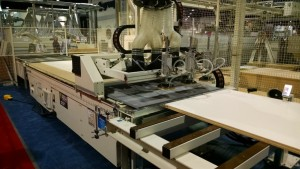 More and more CNC makers are introducing automated infeed and outfeed systems