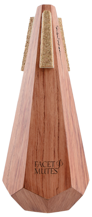 """""""Bubinga"""" Trumpet Straight Mute. Great bright tone for the play it louder, higher faster type of trumpet players. Also known as an African Rosewood."""
