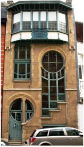 This Art Nouveau building in Belgium is an inspiration for Nick Buchhholz