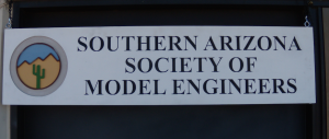 Sign for model railroad club