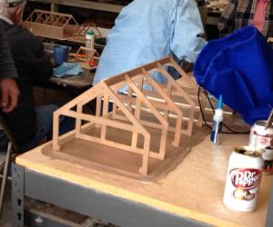 Model building frames