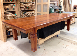 Dining table in the shop...