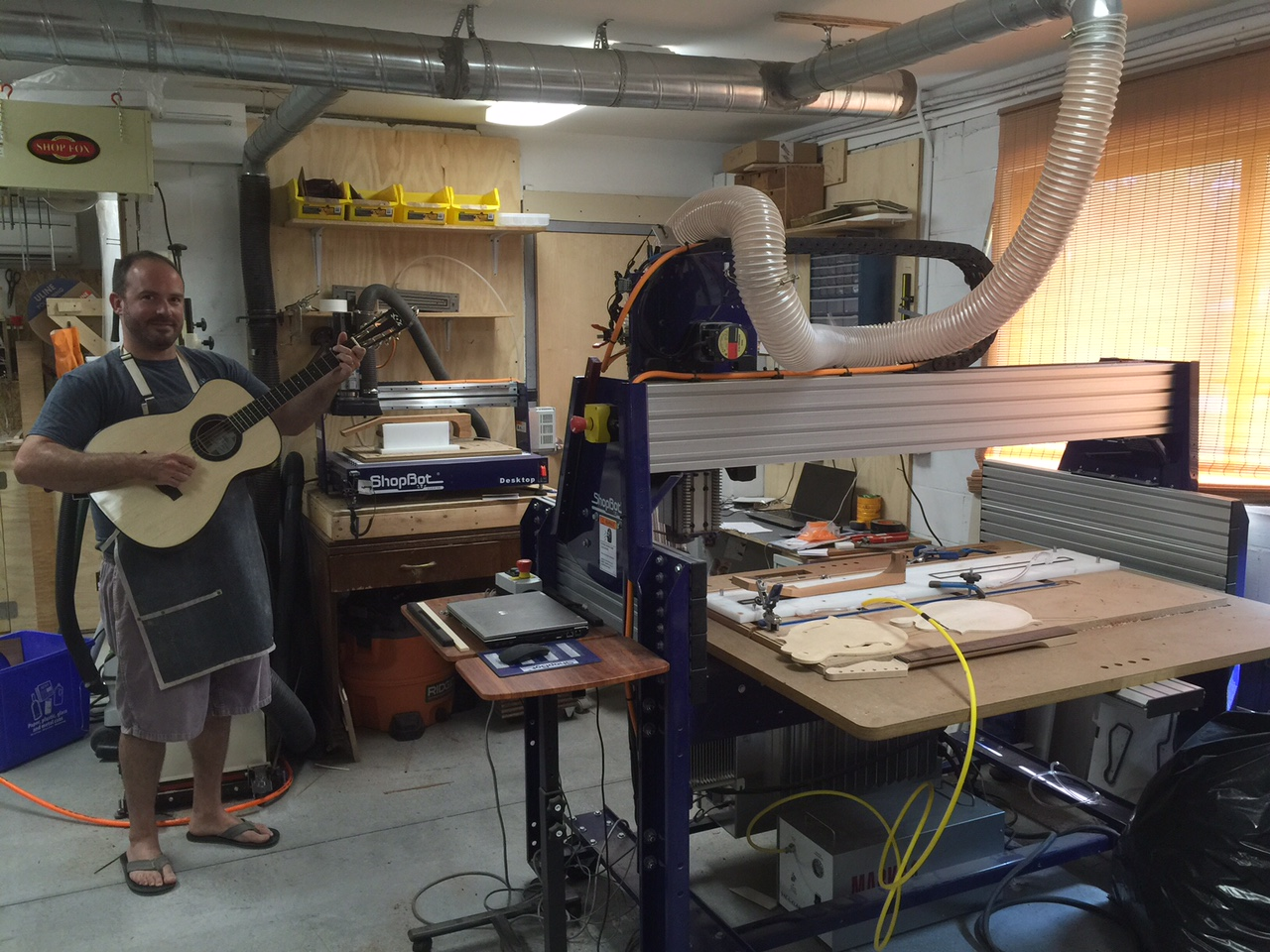 Fine Circle Strings Custom Guitars Adds Shopbot To The Mix Interior Design Ideas Inamawefileorg
