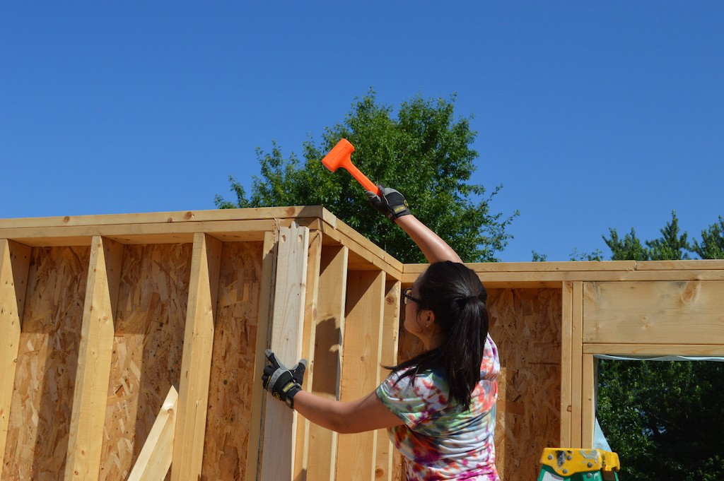 6. A mallet is one of the only two tools needed