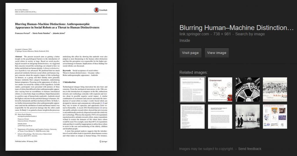 Blurring Human Distinction