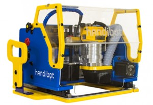 The Handibot® Smart Power Tool, Adventure Edition. ShopBot is donating two of the tools to the CTE Makeover Challenge