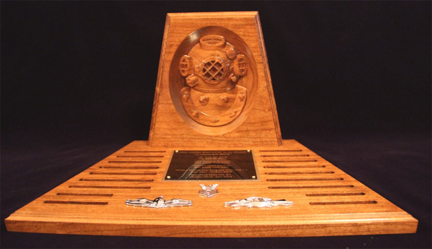 Command Performance_Navy Diver Coin Rack