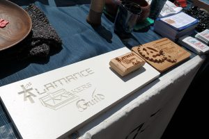 alamance makers guild wooden sign