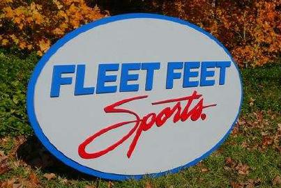 fleet feet sports sign