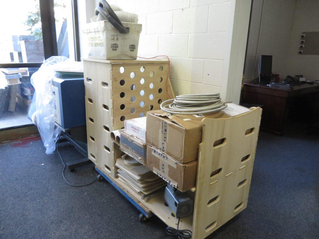 shopbot cnc cart prototype