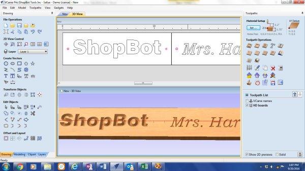 vcarve pro screenshot