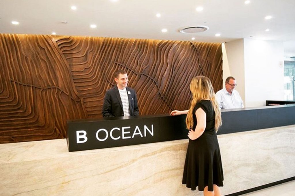 b ocean resort front desk