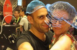 ohad-and-wendy-with-laser-cut-hats