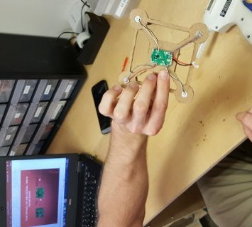 installing quadcopter electronics