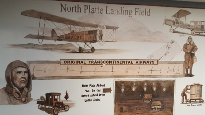 sign at north platte field