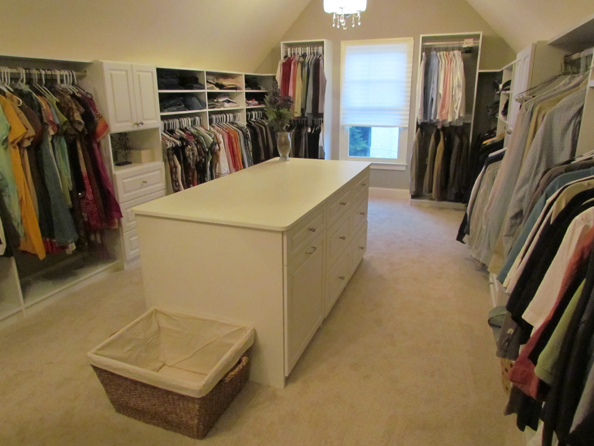 Shopbot blog for Walk in closet with island