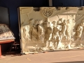 Spoils panel of the Arch of Titus reproduction with photo reference