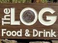 Sign for The Log