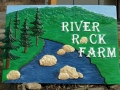 Sign for River Rock Farm