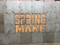 Spring Make 19, where wood and metal come together