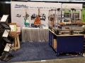 ShopBot's booth set-up at Summer NAMM 2019