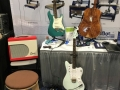 Guitars on display at the ShopBot booth at Summer NAMM 2019