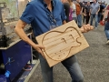 Will MacFarlane having some fun with the ShopBot MAX ATC wood cut guitar body